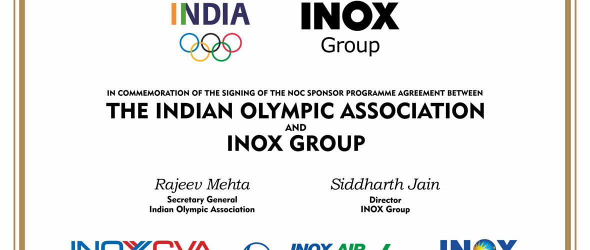 Inox Group signs sponsorship pact with Indian Olympic Association