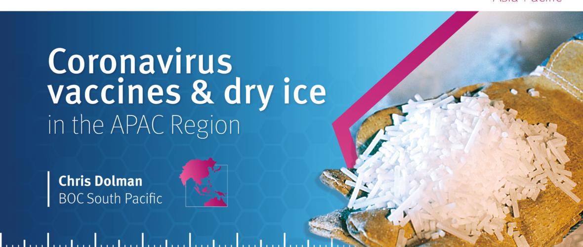 Distributing coronavirus vaccines in the APAC Region