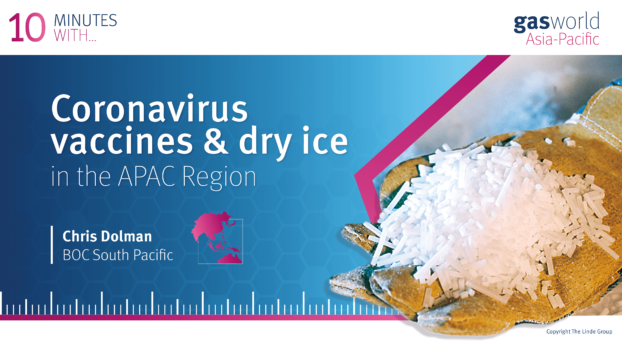 Distributing coronavirus vaccines in the APAC Region: 10 minutes with Chris Dolman, BOC South Pacific
