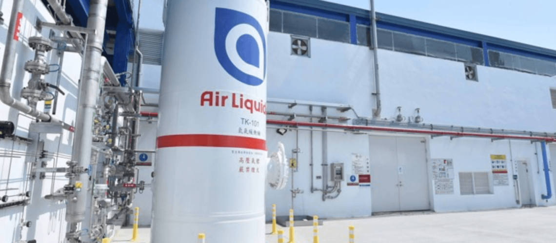 Milestone achieved at Air Liquide's €200m hydrogen project in Taiwan