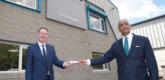 Indian Ambassador welcomed to Ireland on oxygen analyser trip