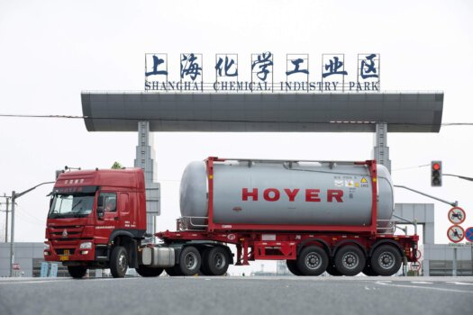 HOYER Group supports sustainability in Chinese chemical industry
