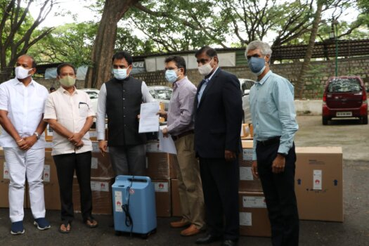 C-CAMP partner with Huawei India supplies medical support to Karnataka Govt