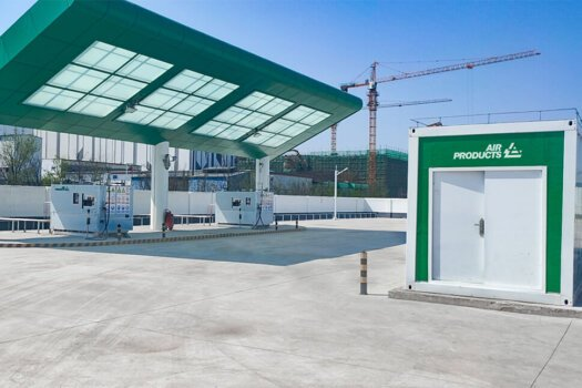 Air Products opens new hydrogen station in Shandong Province, China