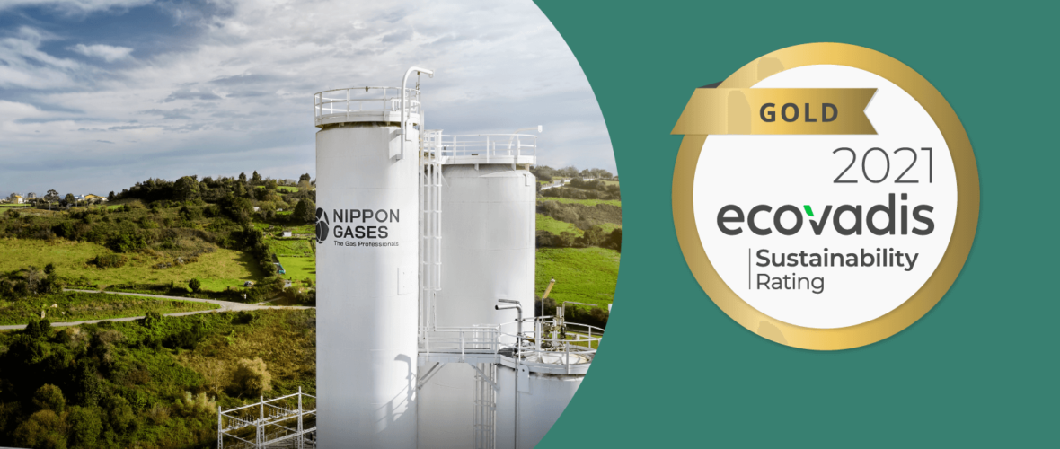 Nippon Gases awarded gold medal for sustainability
